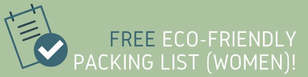 Eco-Friendly Travel Product Checklist
