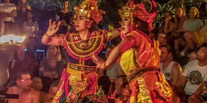 kecak fire dance in bali