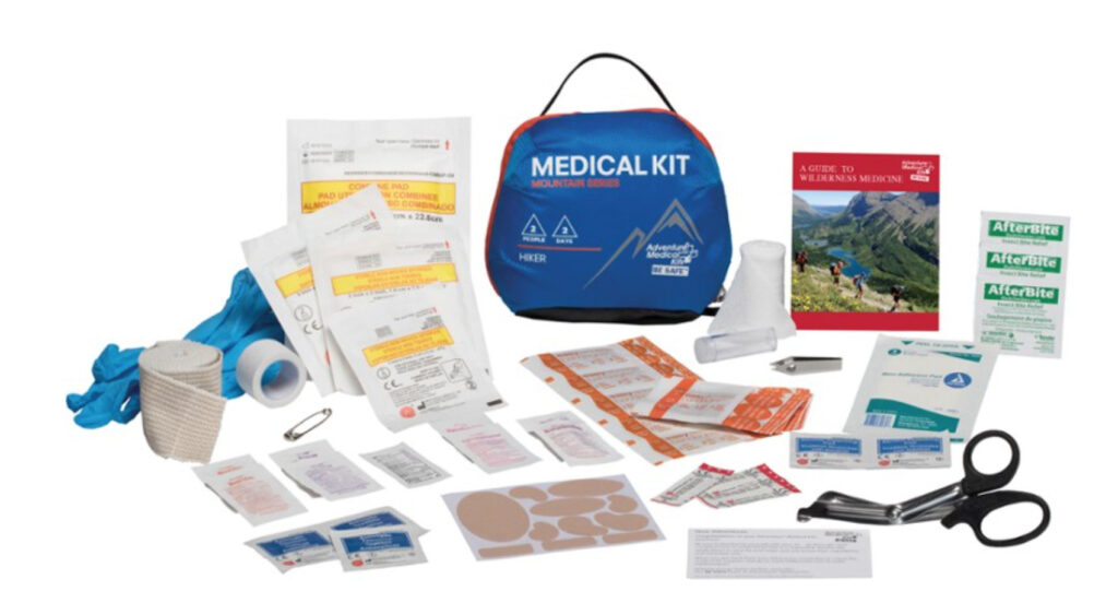 any hiking survival kit needs a first aid kit