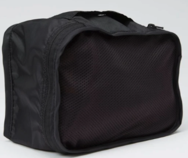travel packing cubes made from recycled water bottles