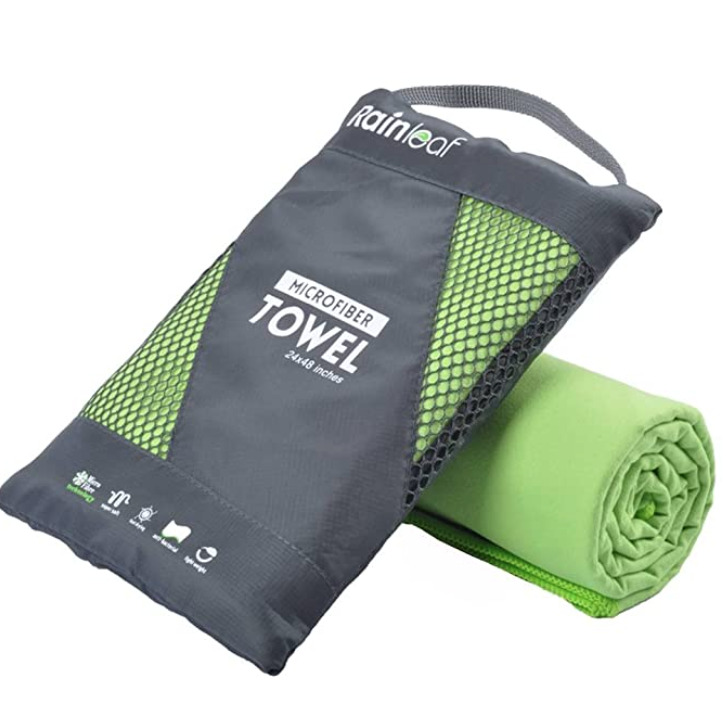 microfiber towel for a sustainable way to get dry
