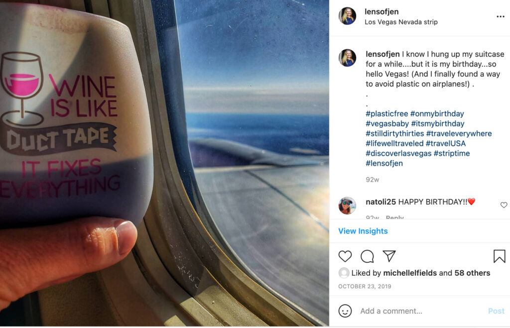 Eco-Friendly Wine Cup for Travel