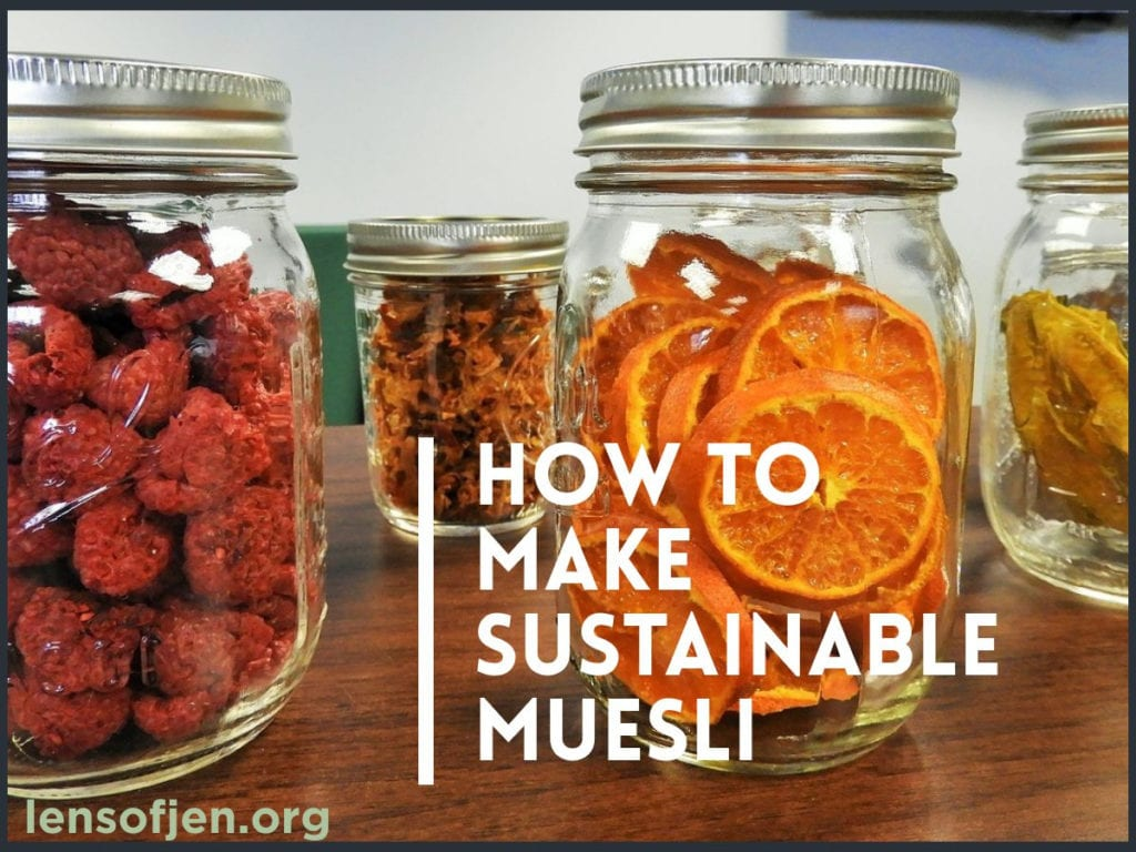 Sustainable Muesli for Sustainable Living