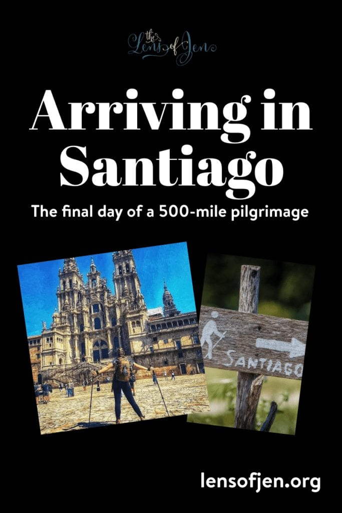 The final day of a 500-mile pilgrimage on the Camino de Santiago.