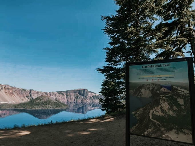 Garfield Peak Trail is a great hike when visiting Crater Lake