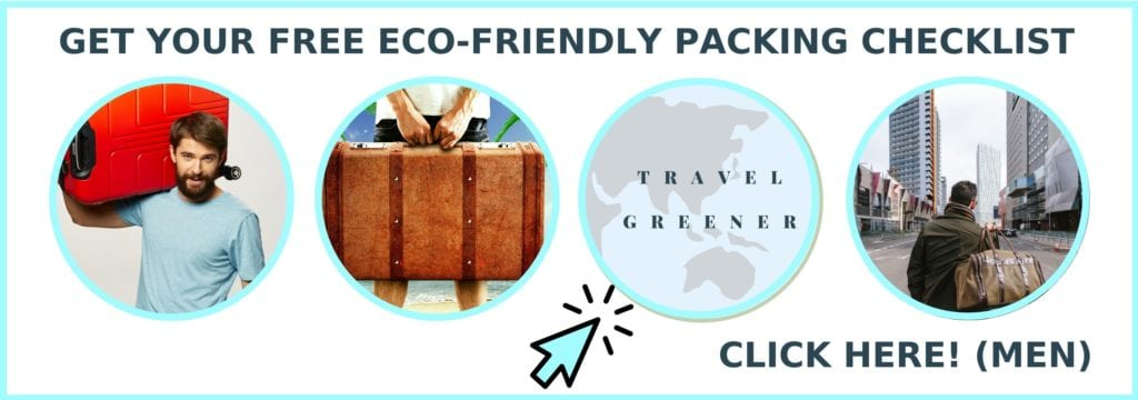 Eco-friendly packing list opt-in for men