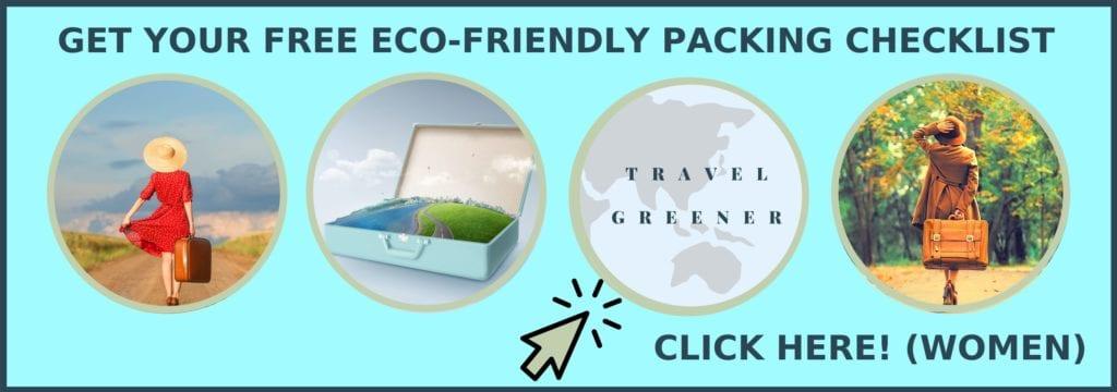 Eco-friendly packing list freebie
