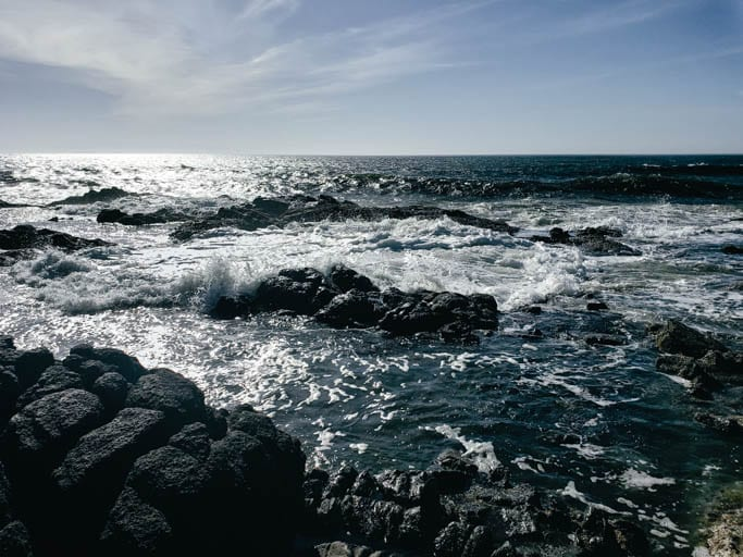 Thor's Well at cape perpetua is a must-stop on an Oregon Coast road trip