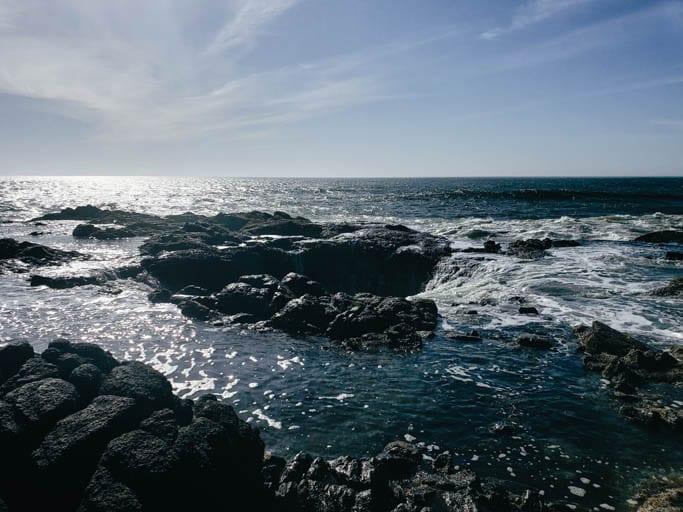 Thor's Well on the Oregon Coast