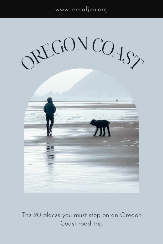Pin for Oregon Coast Road Tip for Pinterest