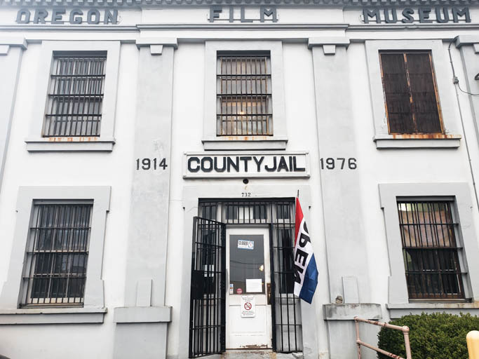 The Clatsop County Jail in Astoria is a must-stop on any Oregon Coast road trip