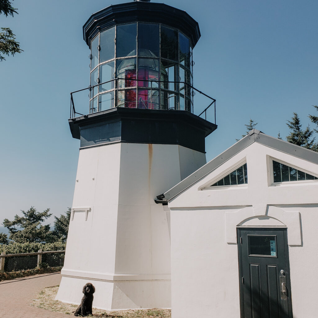Cape Meares Lighthouse is a must-stop on any Oregon Coast road trip
