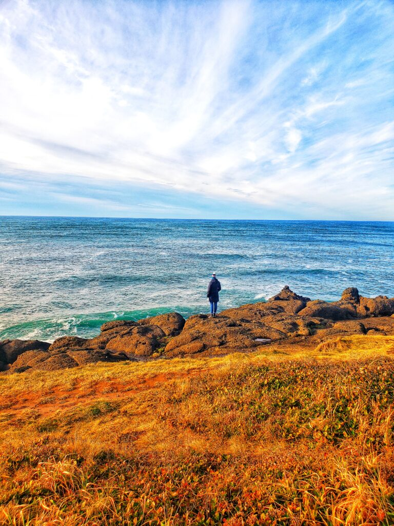 Depoe Bay is the whale watching capital and a must-stop on any Oregon Coast road trip