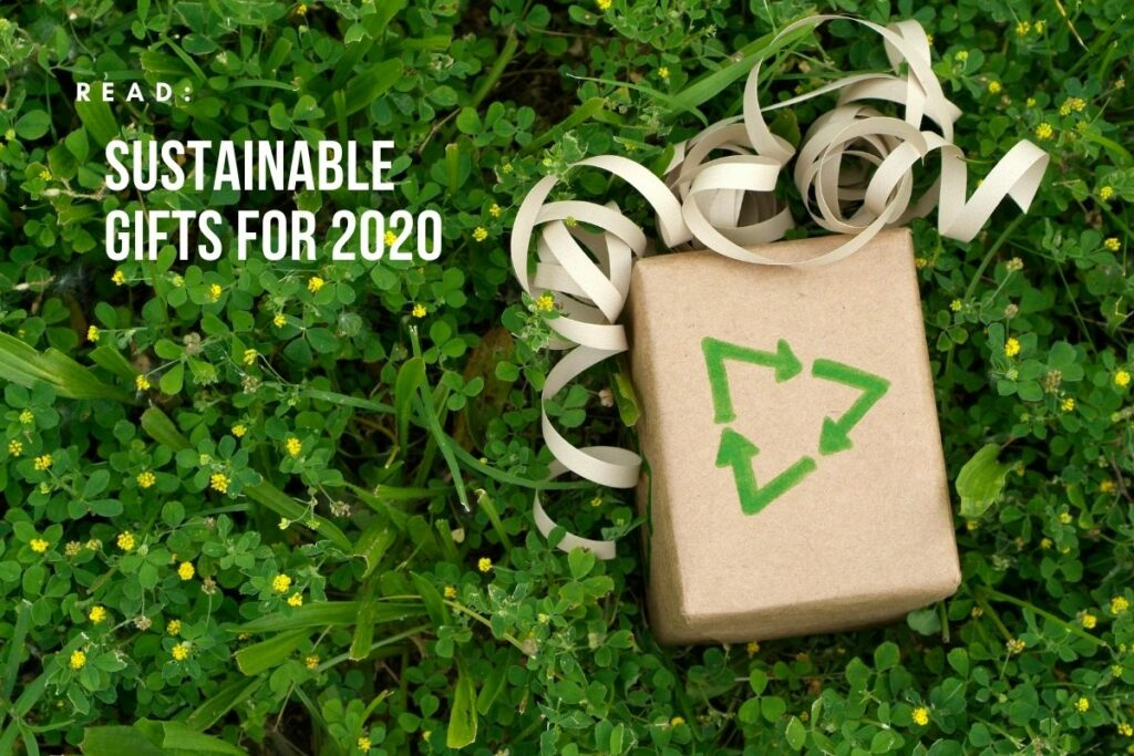 sustainable gifts for 2020