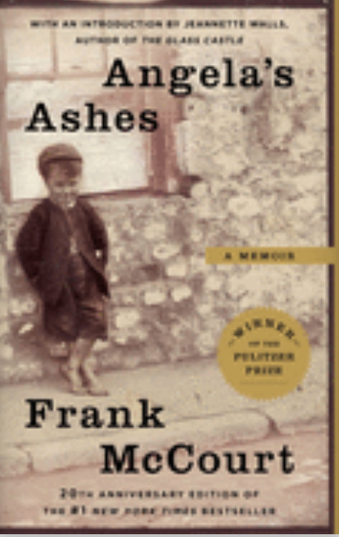 Book Cover of Angela's Ashes by Frank McCourt