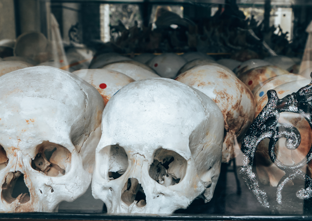 Skulls found near the setting of First They Killed My Father
