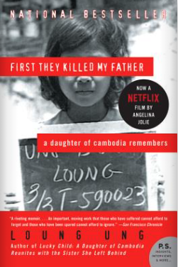 Book cover for First They Killed My Father