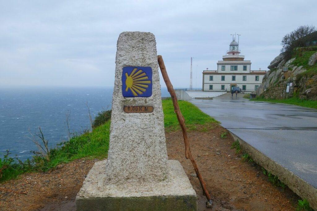 Cape Finisterre on the Camino de Santiago