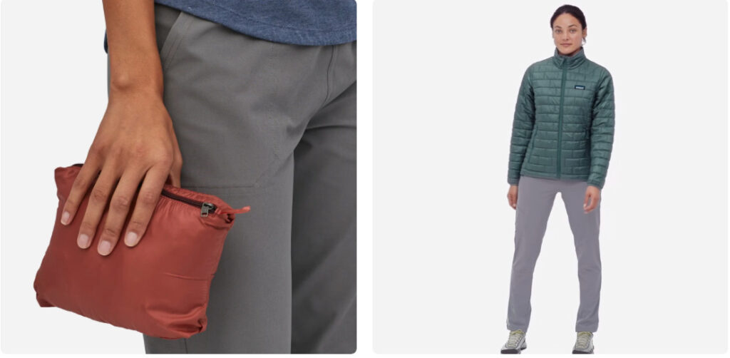 this is the perfect jacket for your camino de santiago packing list