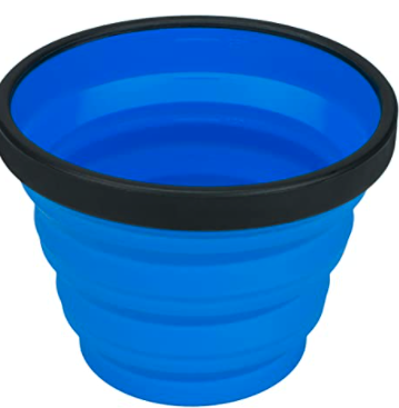 collapsible cup to avoid single-use plastic