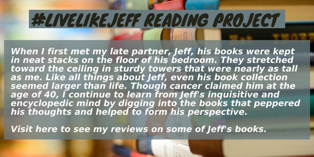 #LiveLikeJeff Reading Project