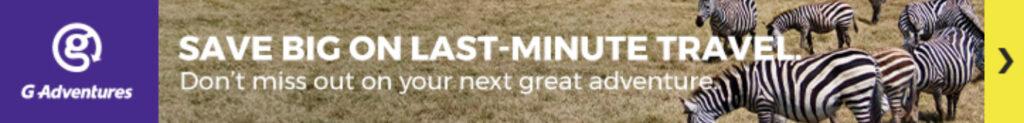 G-Adventures Advert