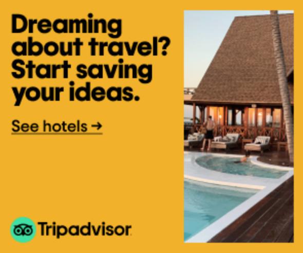 Trip Advisor hotel banner