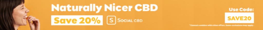 Social CBD advert