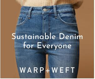 Warp+Weft Sustainable Denim Advert