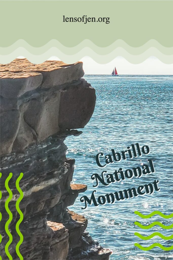 Pin for Pinterest of Cabrillo National Monument hike