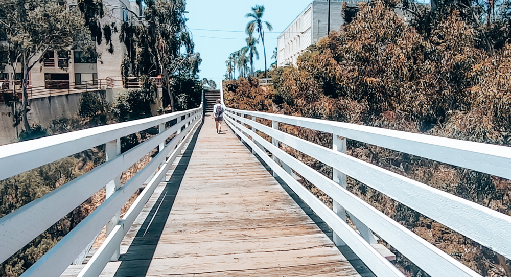 The Quince Street Bridge in San Diego