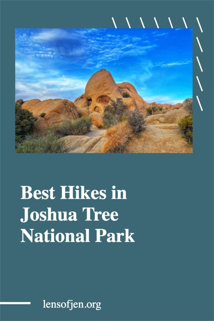 Pin for Pinterest on best hikes in Joshua Tree National Park