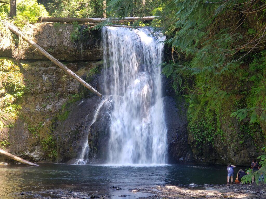 Upper North Falls on the Trail of Ten Falls