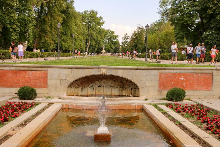 El Retiro Park is a peaceful place in Hemingway's Madrid