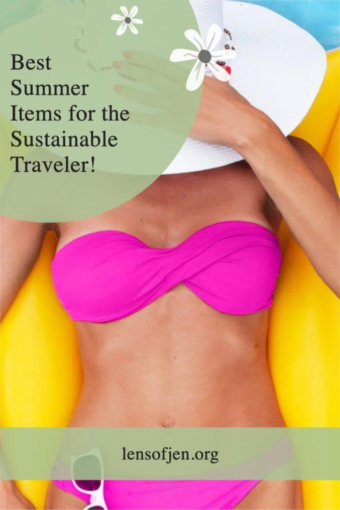 Pin for Pinterest for Sustainable Traveler