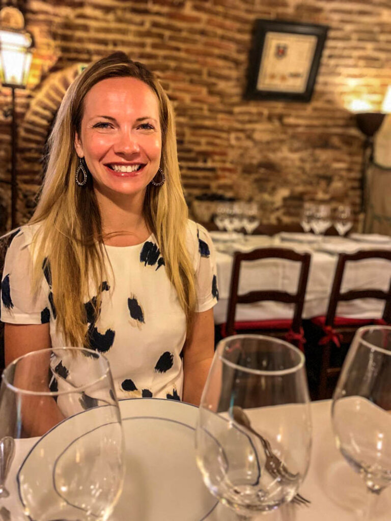 Dining at Sobrino de Botín in Hemingway's Madrid