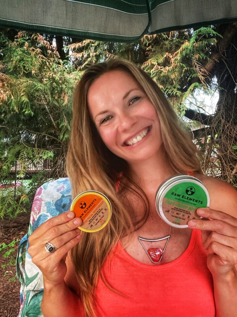 sustainable sunscreen is a must for the summer months!
