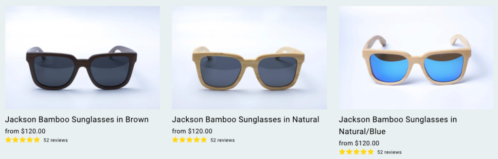bamboo sunglasses for a sustainable summer
