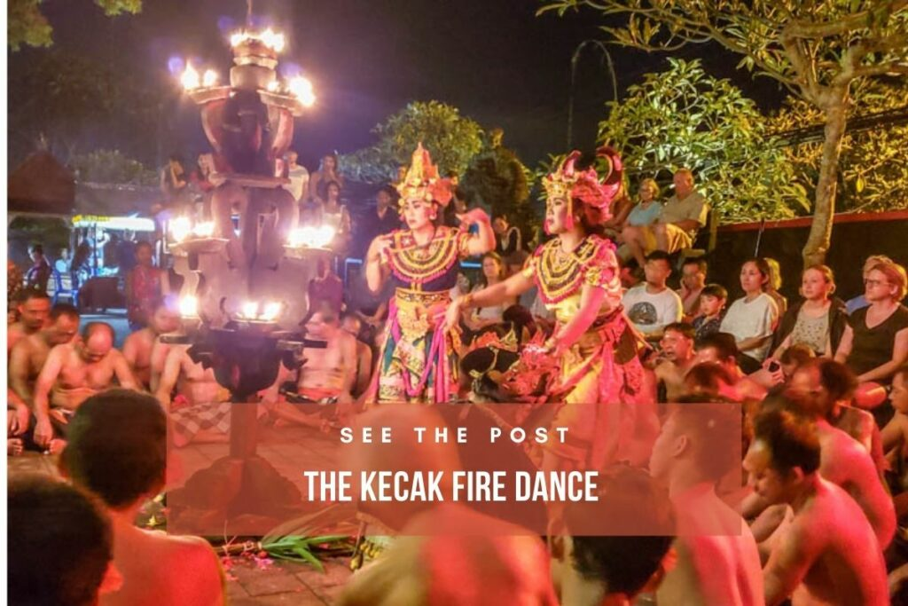 Dance through travel and history with the Kecak Fire Dance