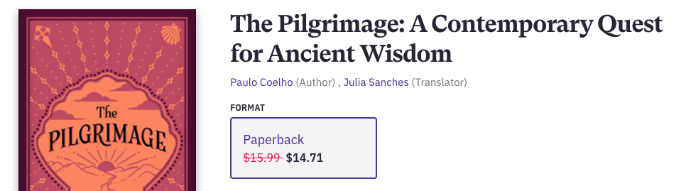 The Pilgrimage is a book that is life-changing for those who read it and then walk the Camino de Santiago