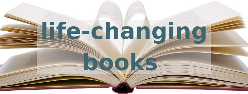 cover image for life-changing books blog post