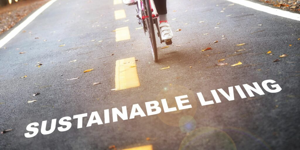 sustainable living feature image for blog