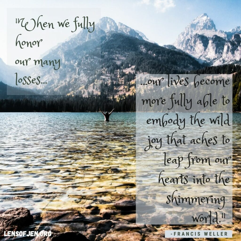 Quote from Wild Edge of Sorrow a life-changing book about grief