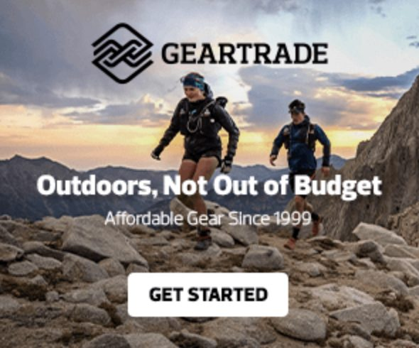 Geartrade advert: An ethical outdoor hub for buying and selling outdoor gear and clothing
