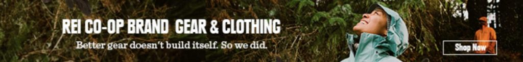 REI ethical outdoor clothing advert